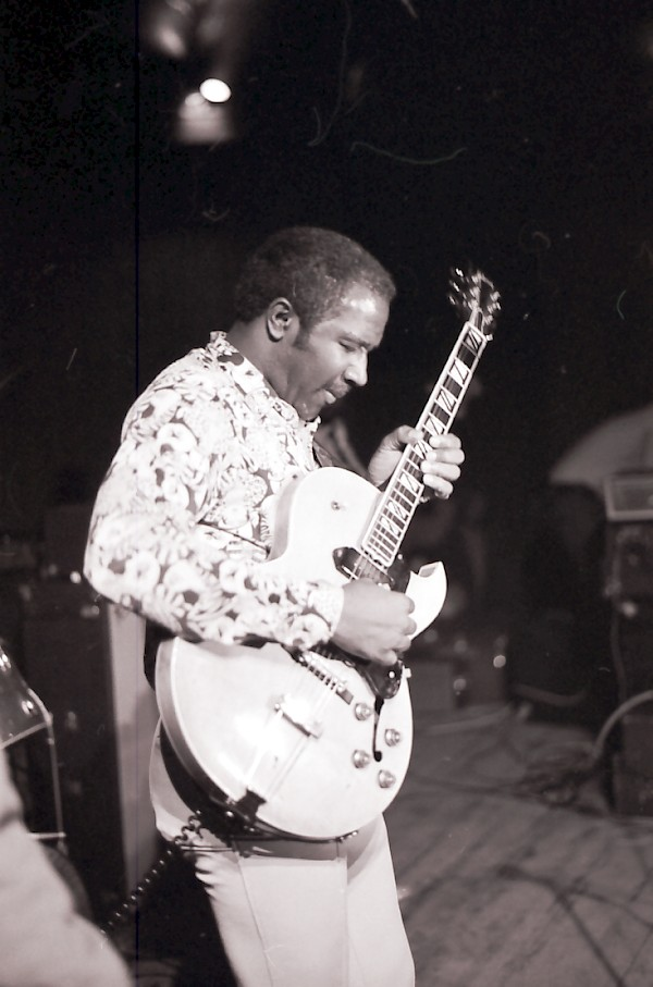 Fenton Robinson in 1974 - By Hansse Andreasson
