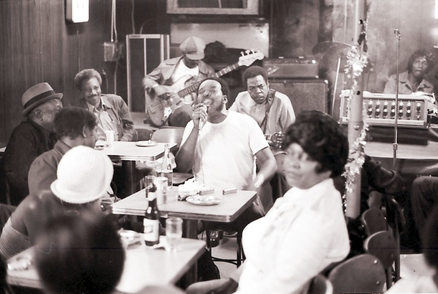 James Cotton at Theresa's 1976 - By Hasse Andreasson