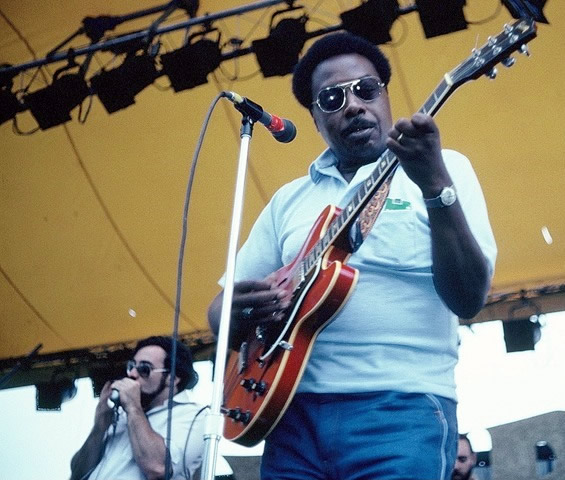Jimmy Rogers - By Andre Hobus