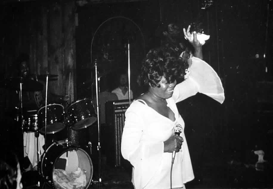 Koko Taylor, in 1976 - By Andre Hobus